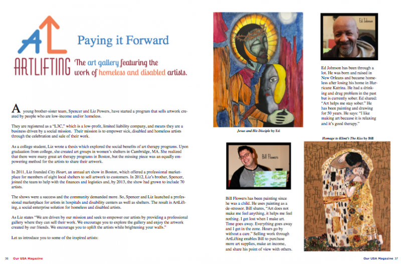ArtLifting - Paying It Forward